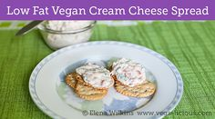 My favorite low fat, vegan garden veggie cream cheese spread. Perfect for any party or on your plate any day.
