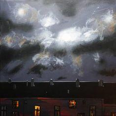 "Saatchi Art Artist Rolf Jansson; Painting, ""moonlight"" #art"