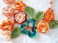 Mothers Day Crochet Necklace 1