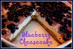Sweet Tea and Cornbread: Easy Blueberry Cheesecake!
