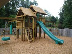 Back Yard Playsets Idea -would love something like this for grandkids