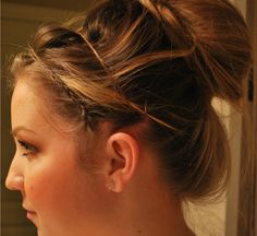 very simple but super cute.  I think this will work for every my curly mass :)