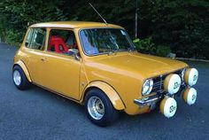 Mini Clubman, Mini Coopers, Classic Mini, Classic Cars, Bike Engine, Engine Swap, Small Cars, Hornet, Rally