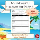 This is a generic version of the rubric found in my comprehensive  Sound Wave Cove NGSS 1-PS Unit Lesson Plans.  This freebie includes two pages.  ...