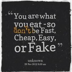 Something to think about next time you pick a meal. #nutrition #eatclean