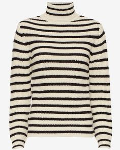 IRO Seely striped turtleneck knit, available @ www.bylotte.nl