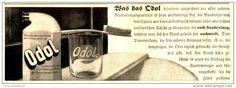 Original-Werbung/Anzeige 1912 - ODOL - ca. 210 x 70 mm