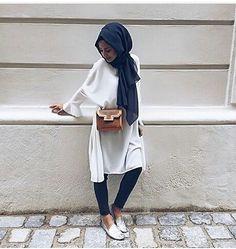 fashion, hijab, and stylé image