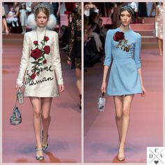 More from D&G at #MFW!