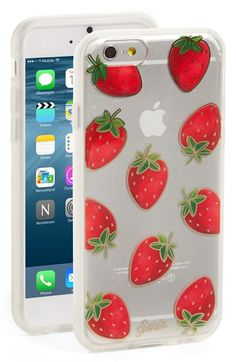 Sonix 'Strawberries' iPhone 6 & 6s Case available at #Nordstrom