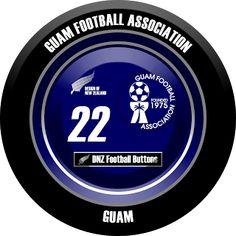 DNZ Football Buttons: Seleção de Guam