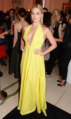 Pin for Later: Who's the Best Dressed Lady in London?  Margot Robbie