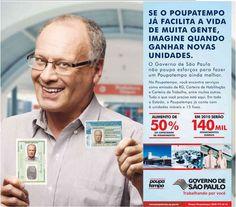 Anúncio do Poupatempo no Estadão em 12 de dezembro de 2009