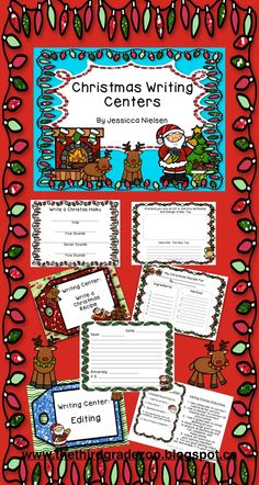 $This package includes 20 unique and creative Christmas themed writing centers. Each writing center includes a poster to hang in the classroom or leave at the center, and all of the writing paper, graphic organizers, directions and checklists you will need. These writing centers would fit nicely into any Daily 5 or center/station routine.