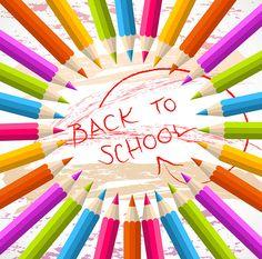 Back to School Free Vector #backtoschool #vector