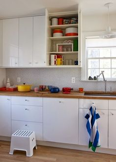 Designer Abby Low lives with her husband and two sons in this…