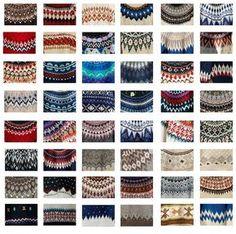 Fair isle Sweater patterns / Shuwei.Liu