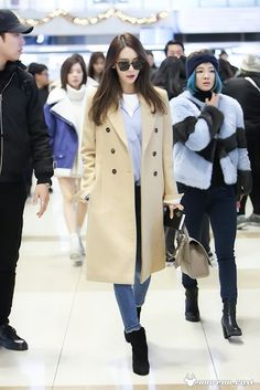 SNSD Yoona Airport Fashion | Official Korean Fashion