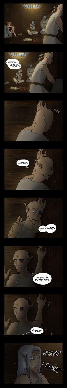 Dragon Age Comic - Evasion Plan by YukiSamui on deviantART