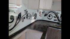 Mutfak Tezgah Arası 3D Cam Panel Sistemleri - Montaj / Malzeme Satış 053...