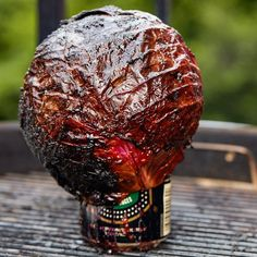 Meet Beer-Can Cabbage, the Ultimate Vegetarian BBQ Main Course