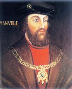 Manuel I de Portugal fue a la vez tío, suegro y cuñado de #Carlos3 Marido de sus tias y hermana. Padre de su esposa