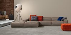 Manhattan is a luxury sofa that is both modern yet comfortable, available from IQ Furniture