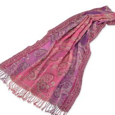 Purple Haze Scarf  Pretty scarf but the price, Ouch! 145.00 at crowsnesttrading.com