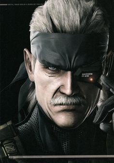 Master Artworks - Metal Gear Solid 4