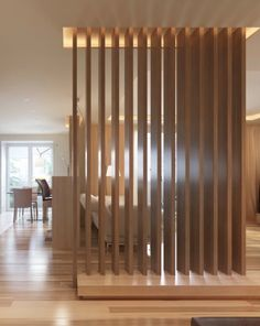#wood verticals architectural #wall feature