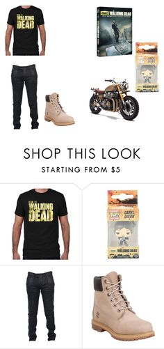"""""""Waking Daed"""" by ericc04 ❤ liked on Polyvore featuring Balmain, Timberland, men's fashion and menswear"""