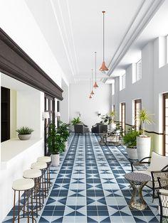 slip rating suitable both indoor and outdoor. Porcelain Tile, Tile Floor, Tiles, Ocean, Indoor, Flooring, Terrace, Commercial, Spaces