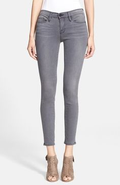 Free shipping and returns on Frame Denim 'Le Skinny' Sateen Skinny Jeans (Greys Inn) at Nordstrom.com. Soft whiskering and subtle fading detail super-skinny brushed stretch-sateen jeans that combine the iconic edge of London style with LA's innovative denim heritage.