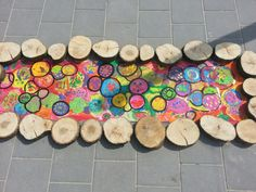 Loopklossen kandinsky kunst onderbouw