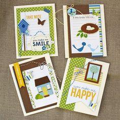 Family Ties card set // Kathy Martin