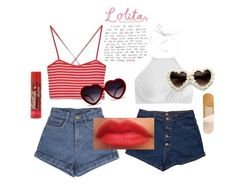 """""""Summer Dolly"""" by dark-eyed-nymphet ❤ liked on Polyvore featuring J.Crew, ZooShoo, nymphet, darling and lolita1997"""
