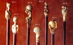 """Hecho a mano - Hand made. Coleccion de bastones diseñados y tallados """"Goro Style"""""""