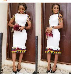 2018 Trendy Ankara Styles To Hit The Market This Ember Month - WearitAfrica Latest African Fashion Dresses, African Dresses For Women, African Print Dresses, African Print Fashion, African Attire, African Wear, African Outfits, Ankara Styles For Kids, Trendy Ankara Styles