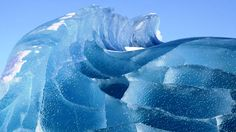 Frozen waves in Antarctica   Wake Up And Smell Life