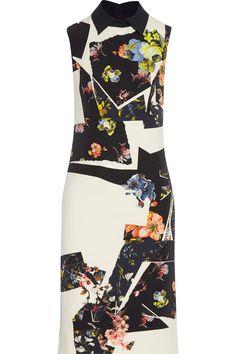 Erdem|Floral-print stretch-crepe dress|NET-A-PORTER.COM