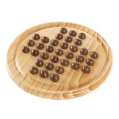 Wooden Solitaire Board Game 33 Marbles 1 or 2 Players Vintage Game Set Cool Toys For Girls, Best Kids Toys, Games For Teens, Adult Games, Wooden Board Games, Game Boards, Best Gifts For Tweens, Solitaire Games, Marble Games