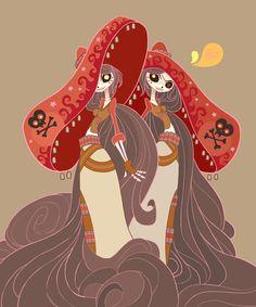 Book of Like Fan Art redux by MeoMai.deviantart.com on @DeviantArt