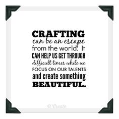 Craft Quote by U Create
