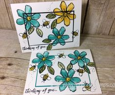 Garden in Bloom perfect color combo | Stamp & Scrap with Frenchie | Bloglovin'