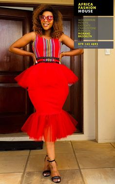 Short African Dresses, Ankara Short Gown Styles, African Wedding Dress, African Weddings, African Fashion Dresses, Wedding Dresses, Venda Traditional Attire, Traditional African Clothing, Traditional Fashion