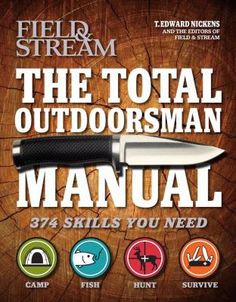 Describes 374 skills essential to hunting, fishing, camping, and surviving in the outdoors, offering advice on such tasks as pitching camp, rainproofing tents, siponing gas, splitting logs, throwing a knife, fishing a bream bed, tying a rapala knot, trolling, paddling a canoe into a gale, facing a duck blind in the right direction, tanning a deer hide, tracking an elk, building a fire in the rain, making a blowgun, skinning and cooking a snake, and more. 799 NIC