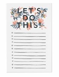 Rifle Paper Co. Let's Do This Notepads, new for Spring/Summer 2016