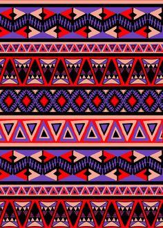 Neo Tribal Art Print by Amy Sia   Society6