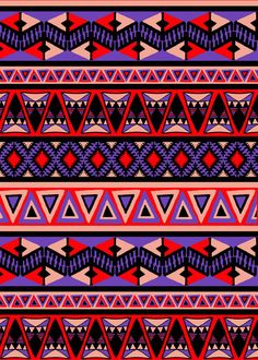 Neo Tribal Art Print from http://society6.com/ <3