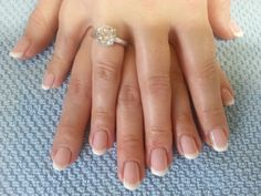 OPI gel:  french manicure with I Theodora you and Alpine white